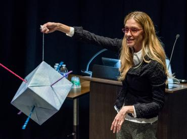 Lynette Cegelski at Chem-Art Colloquium