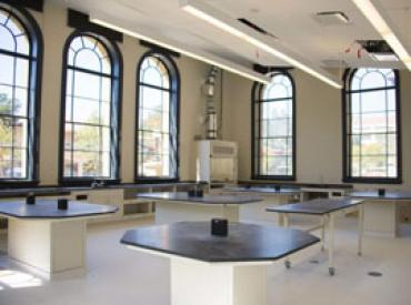 Classroom in the new Sapp Center for Teaching and Learning (Stanford News Service)
