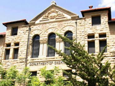 Old Chem becomes the Sapp Center for Science Teaching and Learning (Sheldon Breiner, University Archives)