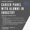 Career panel flyer